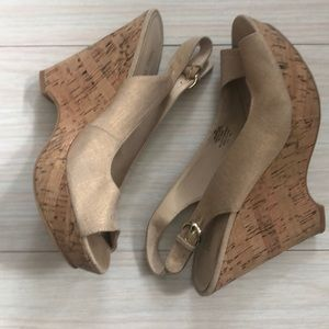 Nine West summer wedges